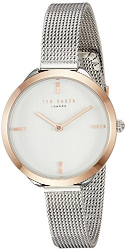 Ted Baker Women's 'ELANA' Quartz Stainless Steel Casual Watch, Color:Silver-Toned (Model: TE15198009)