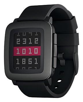 Pebble TIME Smartwatch Black: Amazon.es: Electrónica