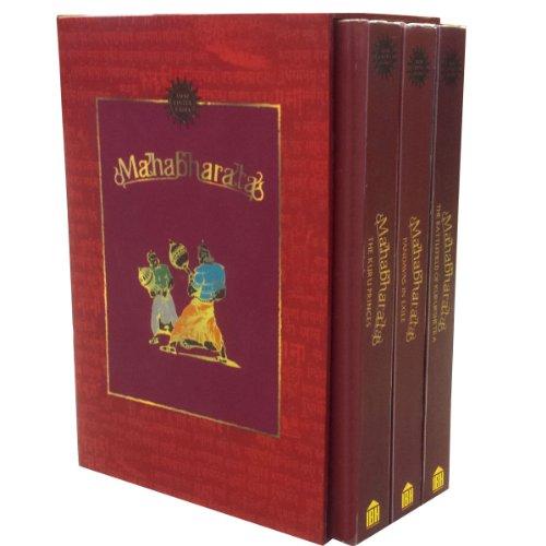 Mahabharata- Vol 1-3; the Kuru Princes, the Pandavas in Exile, on the Battlefield of Kurukshetra (Mahabharata) -  Paperback