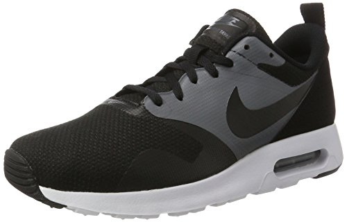Nike Men's Air Max Tavas SE, BLACK/BLACK-DARK GREY, 9.5 M US