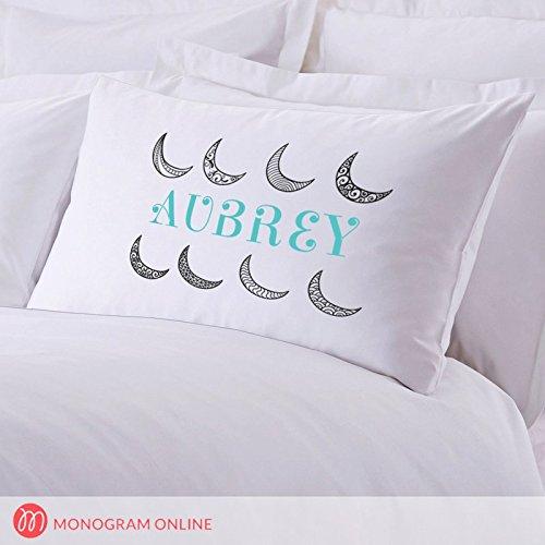 Personalisierte Direct Personalisierte Moon in the Sky Kissen Fall B071H1TQSN Kopfkissenbezüge