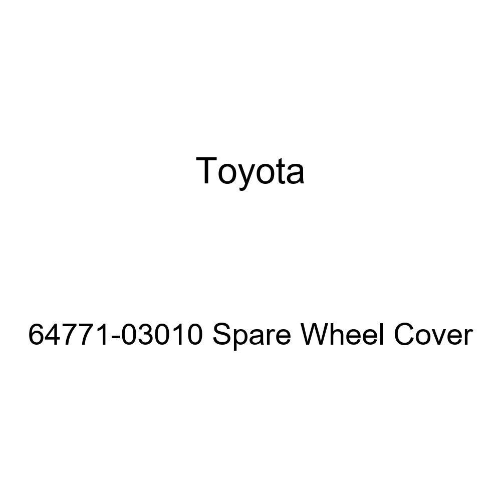 Toyota Genuine 64771-03010 Spare Wheel Cover