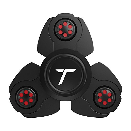 Trianium Fidget Spinner Pro Metal Series Prime Ball Bearing Finger Spinner Hands Focus Toys Perfect For ADHD, Anxiety,Autism,Boredom
