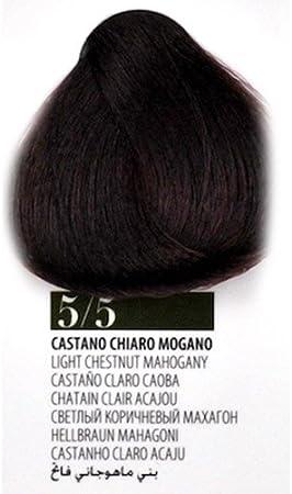 Tinte Pelo 5.5 Castaño Claro Caoba farmagan Hair Color Tubo ...