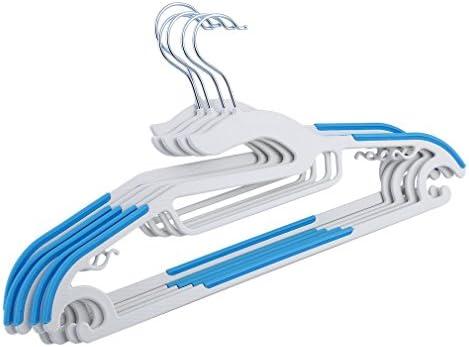 homgrace perchas 50 unidades antideslizante plástico traje ...