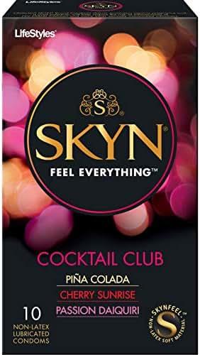 Condoms: Skyn Cocktail Club