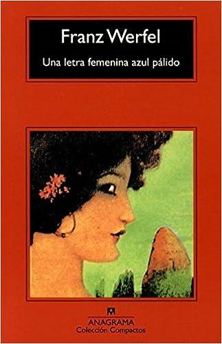 Una letra femenina azul pálido (Compactos Anagrama): Amazon ...