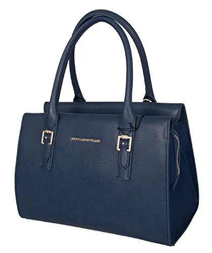 Trussardi Jeans Bag, Shoulder Strap Or Shoulder Bag Women 75ba60 Monaco Baulet Article 48 Blu