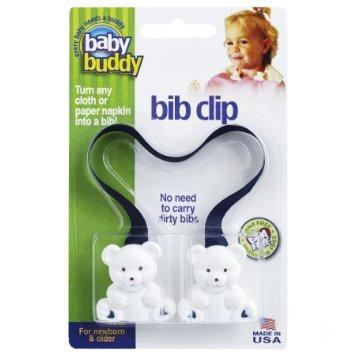 Amazon.com: Baby Buddy – Cinta para sujetar babero (, color ...