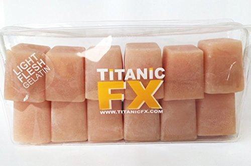 Titanic FX – Reusable Prosthetic Gelatin Light Flesh