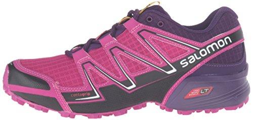 Salomon Women's Speedcross Vario W-W Trail Runner, Deep Dahlia/Black/Cosmic Purple, 10 B US by Salomon (Image #5)