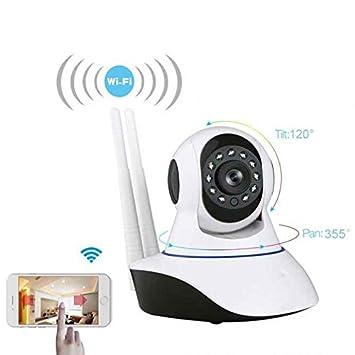 Interior WiFi Cámara IP, Mobile mando a Vigilancia, True Color Display, reproducción de