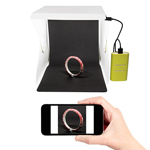 Portable Product Photography Studio With Lighting: Portable Photography Studio 9 Inch