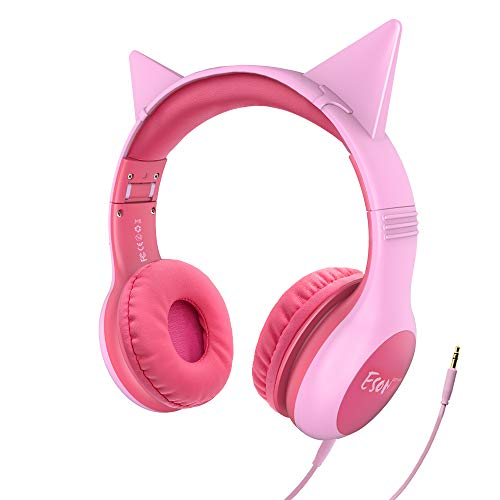 These headphones are great! Got them as a gift for a 13 year old and they work great and fit her well. Cute too!