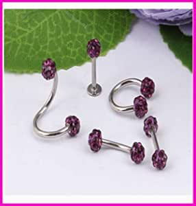 amazon com davitu piecing jewelry 50pcs lot mix 5 style