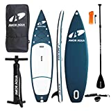AMOR AQUA Double Layer Inflatable Standup Paddle Board 11'x33 x6 ISUP Package …