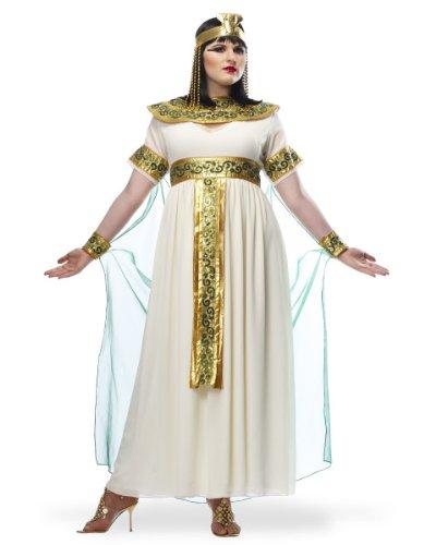 [Cleopatra Costume - Plus Size 2X - Dress Size 20-22] (Egyptian Pharaoh Princess Adult Womens Costumes)