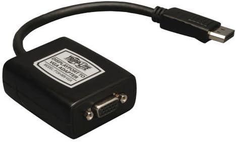 NEW TRIPP-LITE P134-06N-VGA-V2 DISPLAYPORT// DPORT 1.2 TO VGA ADAPTER 1080P HD