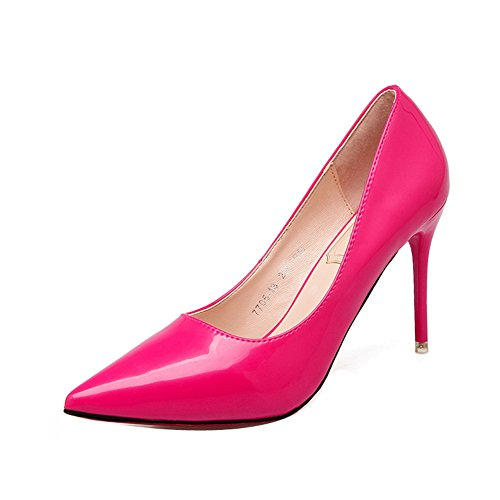 Donna Low rosso top LadolaDgug00244 Rosa Hwqx7EHT