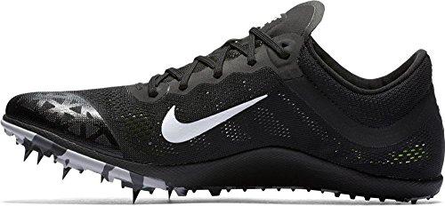 (Nike Zoom XC Unisex Cross Country Spikes (9.5, Black/White-Dark Grey))