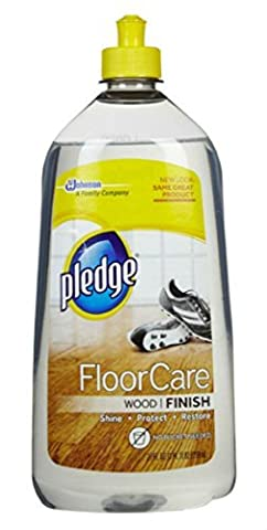 Pledge FloorCare Wood Finish Floor Cleaner, 27 Oz - 27 Oz Future Floor