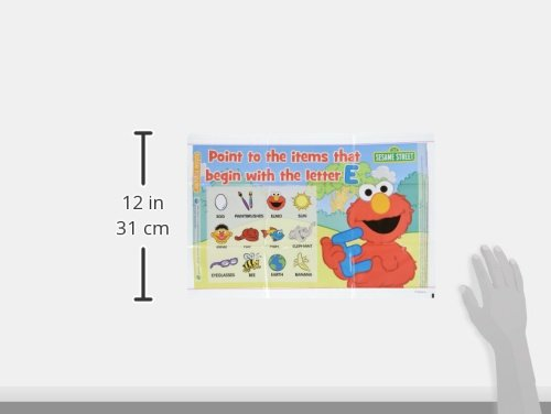Neat Solutions Sesame Street Table Topper Disposable Stick-in-Place Placemats - 30 Count by Sesame Street (Image #6)