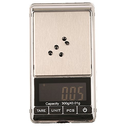 Pocket LCD Mini Electronic Digital Balance Weight Scale 300x0.01g - 3