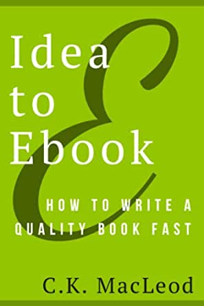 how to write a book fast schedule
