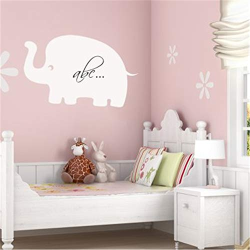 Family-decal Peel and Stick Removable Wall Stickers Stickers Elephant Pas Cher Chalkboard Blackboard WhiteBoard for Kids Room -