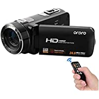 Emperor of Gadgets Ordro HDV-Z8 Camcorder with 1080P Full HD, 16X Digital Zoom, 3.0 Inch Touch Screen LCD (Camcorder Only)