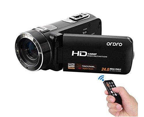3 opinioni per Express Panda Ordro HDV-Z8 Camcorder con 1080P HD, zoom digitale 16x, 3,0