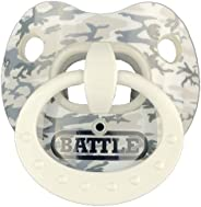 Battle Sports Binky Oxygen Lip Protector Football Mouthguard for Adults and Youth (Snow Camouflage)