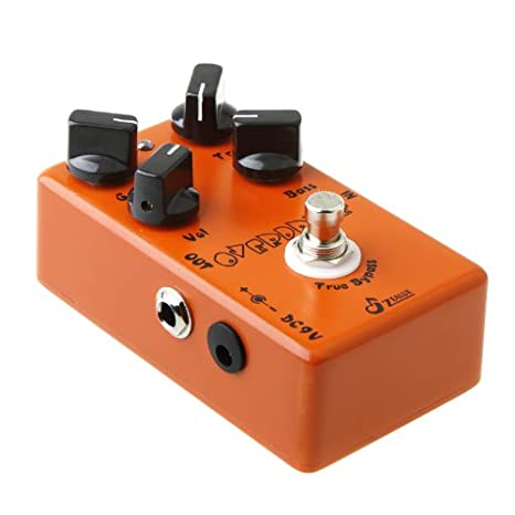 Andoer Caline CP-18 Pre AMP Pedal de guitarra Overdrive (Naranja): Amazon.es: Electrónica
