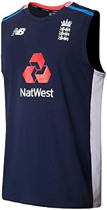 ALL SIZES *RRP £30 England Cricket New Balance Sleeveless Training Top