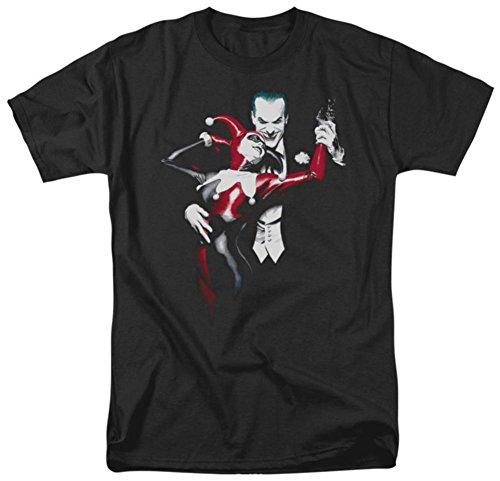 Mens Batman Joker & Harley Quinn Arkham Asylum T-shirt M