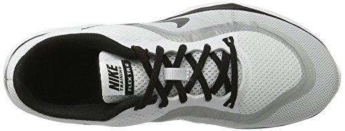 Nike Kvinnor Flex Tränare 6 Vit Svart Platina 102