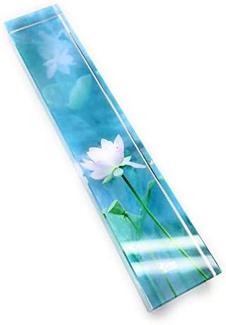 [해외]문 진 페이퍼 웨이트 연꽃 수채화 풍 유리 (A 형) [병행 수입 / Paper weight Paper weight Lotus flower watercolor glass (Type A) [Parallel Imported Good