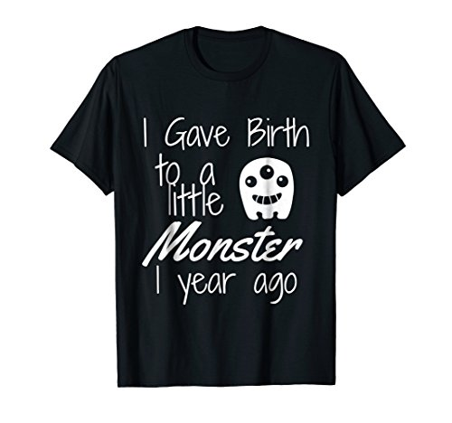 Monster Shirt Mom of the Birthday Boy Halloween 1st Birthday -