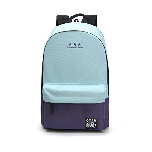 Students Backpack 'Shoulders Bag for Girls Boys Fashion Knapsack Laptop Bags (Moon)