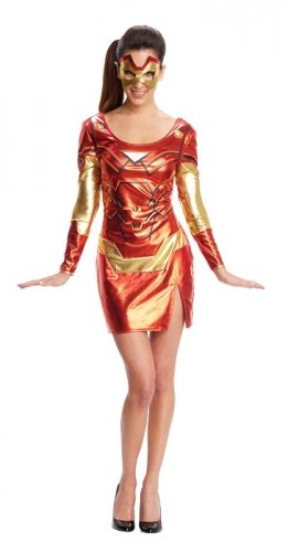 Character Miss Iron Man Pepper Potts Rescue Extra Small Costume -