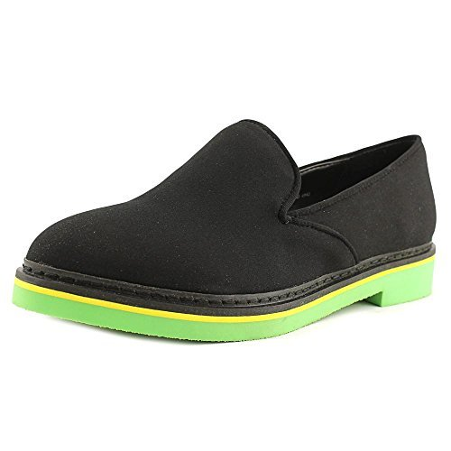 Chinese Laundry Womens cinamon Fabric Closed Toe Loafers, Black Lycra, Size 6.5
