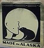 Large Alaska Ulu Bowl Set Roaming Moose Etched