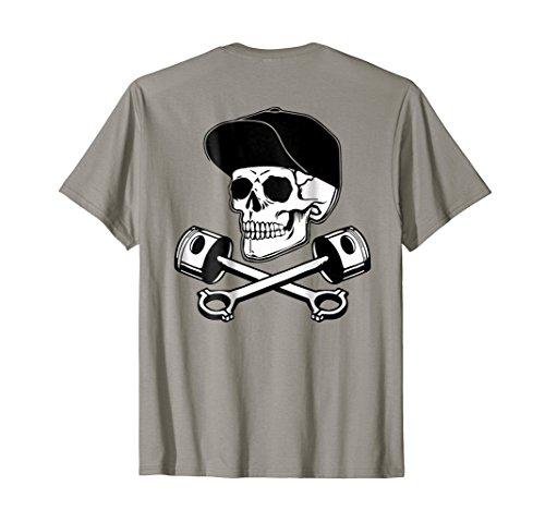 Vintage Hotrod Rock&roll Classic Car T Shirt Skull Tee ()