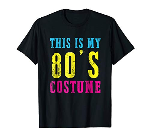 Funny 6780s Costume Halloween T Shirt