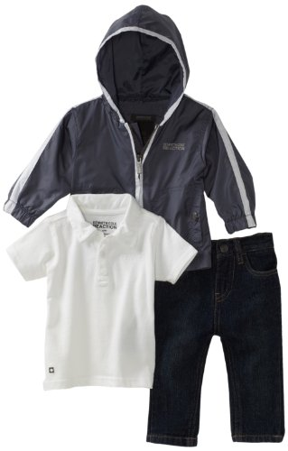 Kenneth Cole Baby Boys' Kc 3 Piece Pant Set
