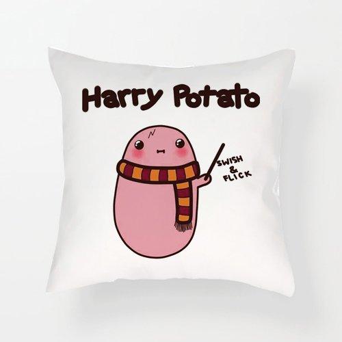 Charo Gifts Cojín con Inserto de Harry Potato Kawaii con ...