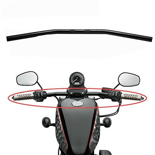 - INNOGLOW 1PC Aluminum Alloy 25mm Drag Bar Handlebar Fit Bobber Brat Cafe Chopper Custom Motorcycles,1982-2014 Harley Sportster,Big Twin Models