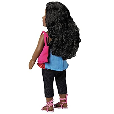 """Adora Amazing Girls 18-inch Doll, """"Jada"""" (Ages 6+) [Amazon Exclusive] by Charisma"""