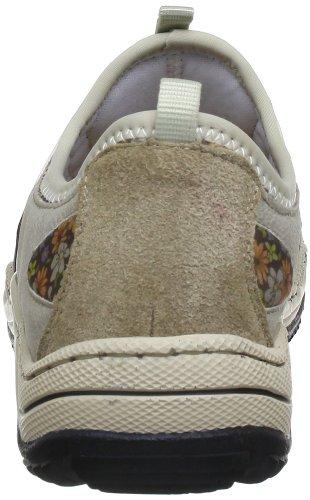 Moro Oro 60 Damen Silver L0563 multi Nebel Sneakers Beige Muschel Rieker nqZvYB8n