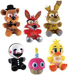 Set of 6: Funko Five Nights at Freddy's 6